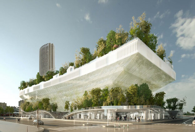 Mille Arbres will link nature to architecture in Paris