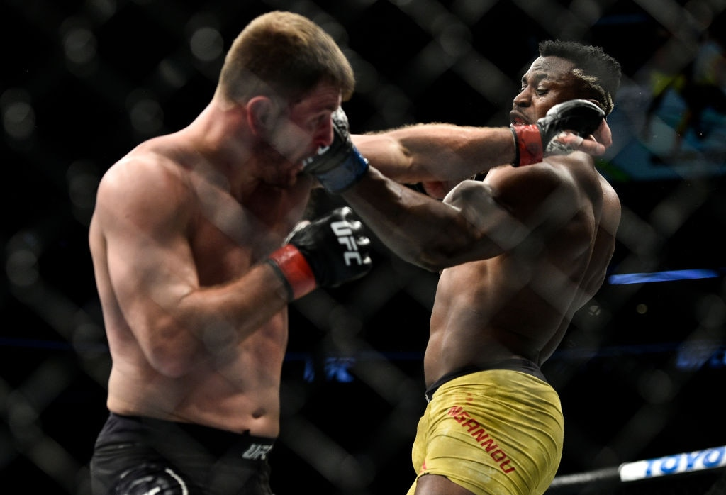 Miocic vs. Ngannou at UFC 220