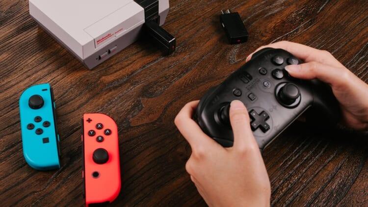 NES Classic switch joy cons