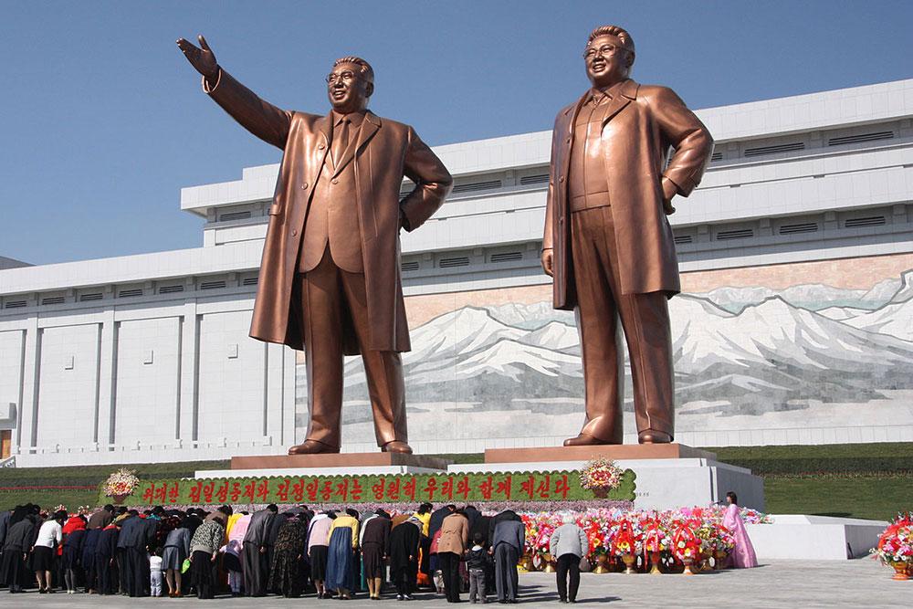 Statues in North Korea Wikimedia