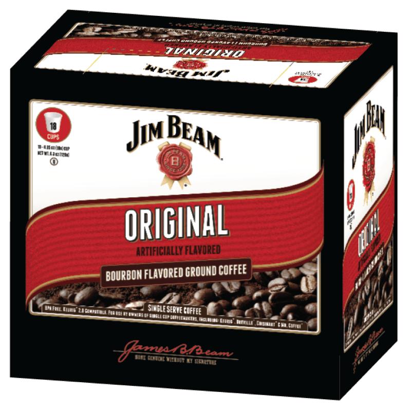 Jim Beam Bourbon flavored java