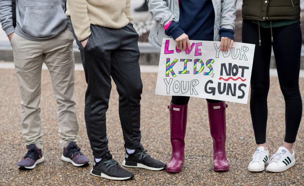 Parkland High School shooting protest