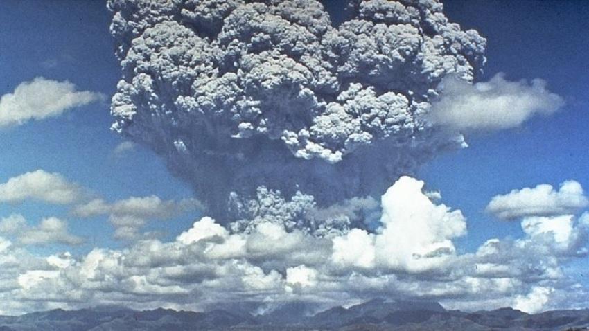 Mt. Pinatubo eruption