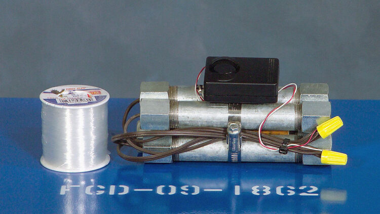 Pipe bomb example wiki