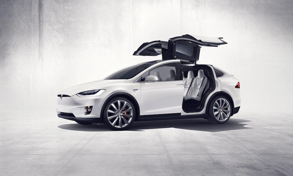Production Tesla Model X