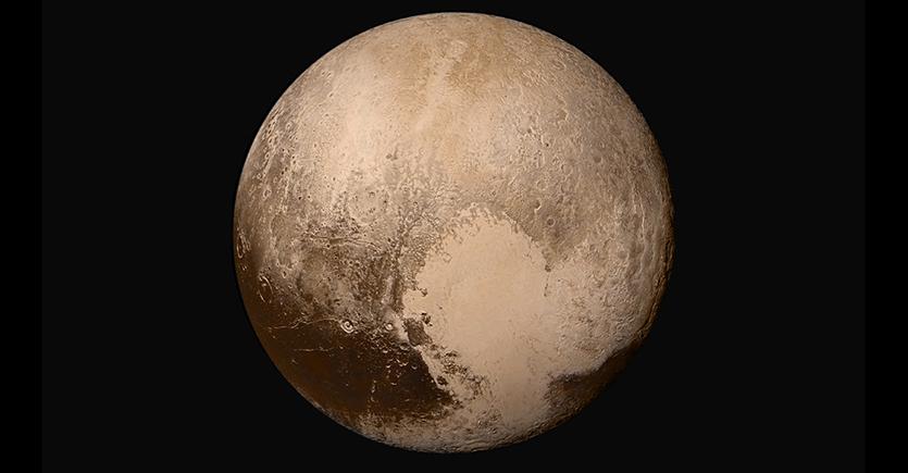 Pluto heart side