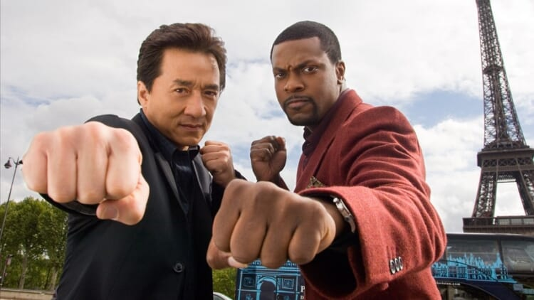 Jackie Chan and Chris Tucker in Rush Hour 3