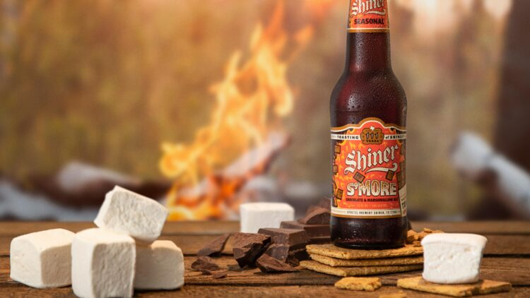shiner s'more beer promo