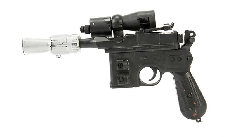 Solo's blaster