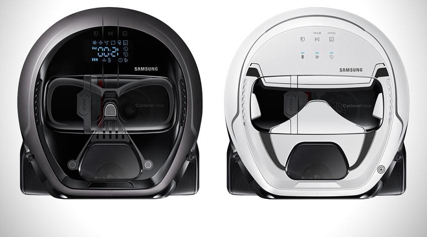 Samsung Star Wars vacuums