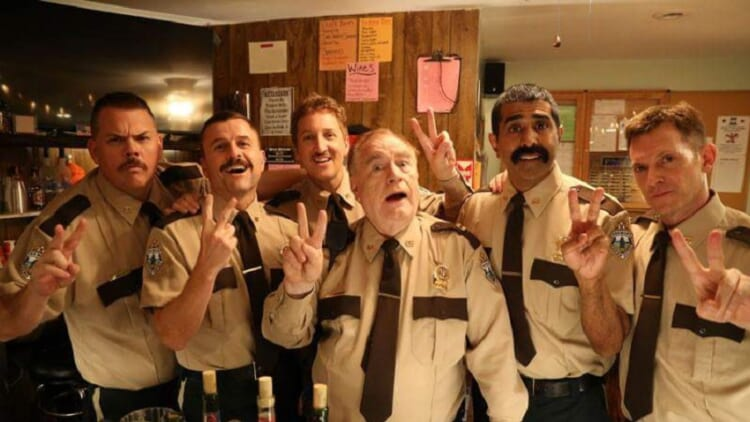 Super Troopers 2 cast pic
