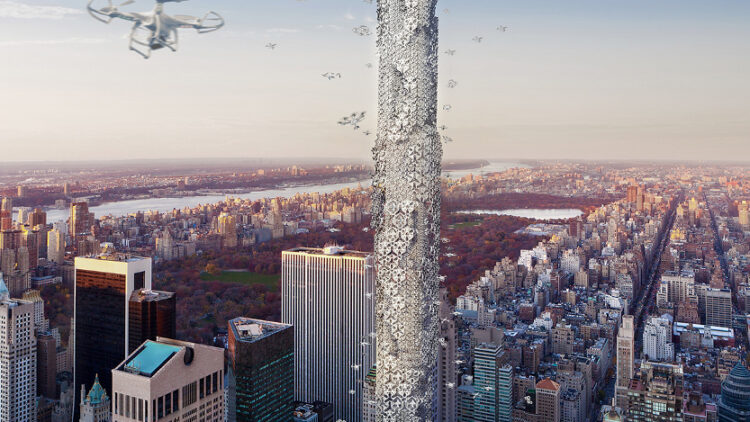Could the West's tallest tower become a drone hub?
