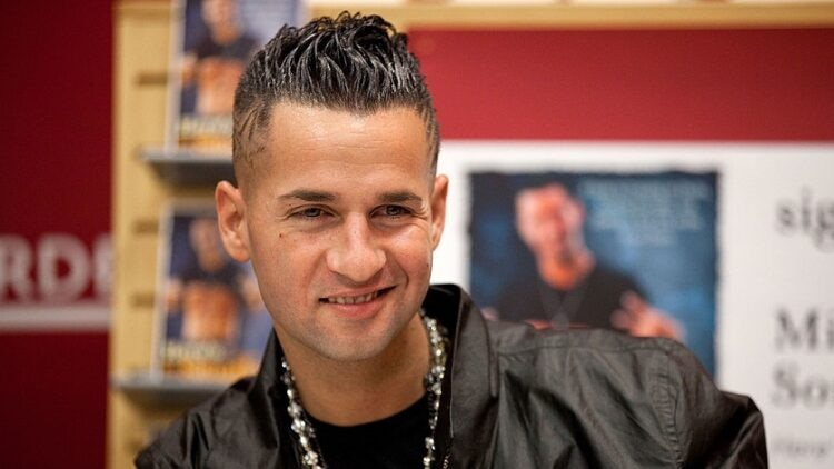 """Mike """"The Situation"""" Sorrentino from Jersey Shore"""