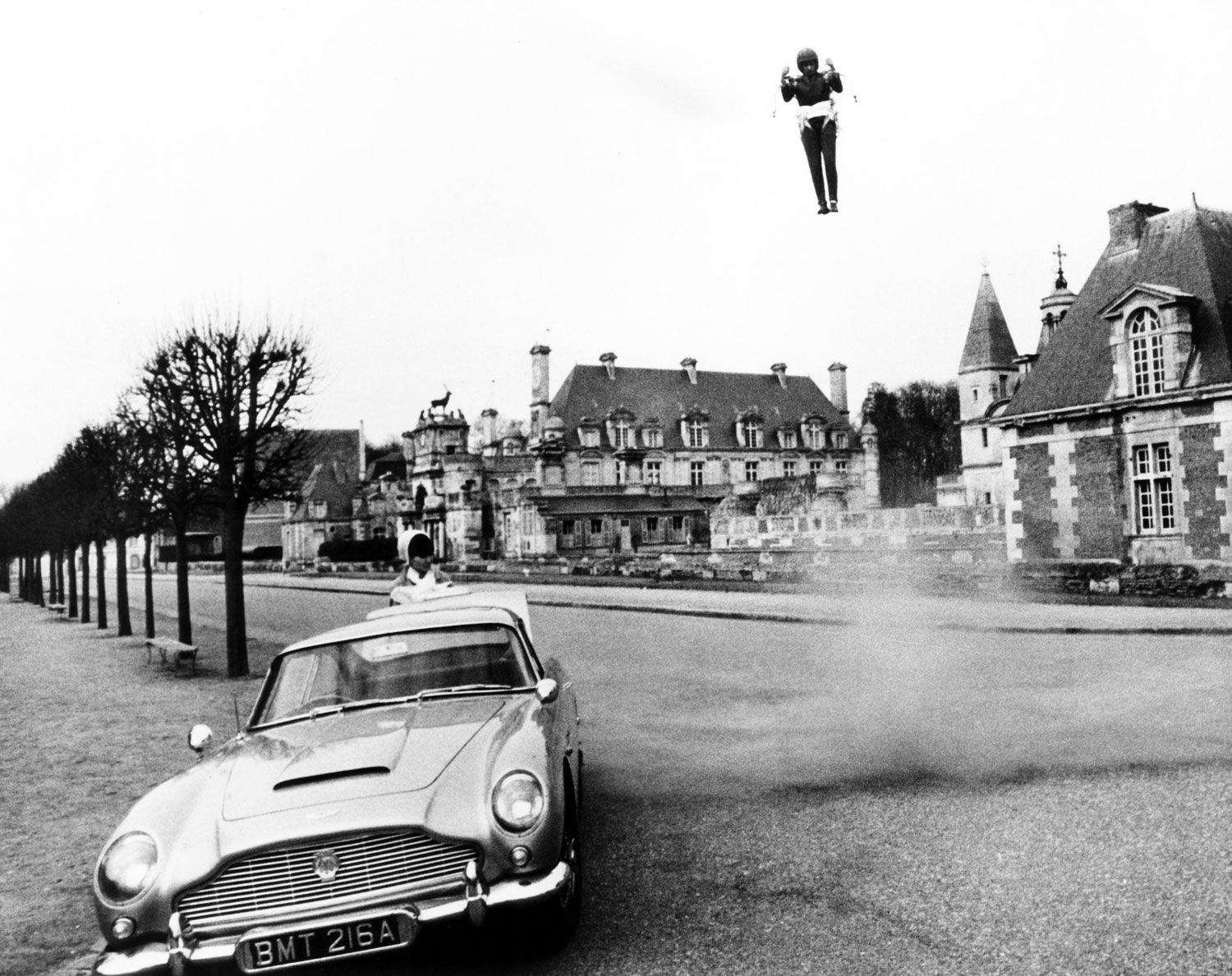 """Thunderball (1965) – Aston Martin DB5 - The Driver: Goldfingerwas a huge success, and Connery was soon back in Pinewood Studios to film quick follow-up. Still stellar, though.The Car: Aston Martin began calling the DB5 """"The most famous car in the world,"""" and Bond could hardly afford to be seen in anything less.The Evolutionary Leap: Not much—it's hard to improve on Sean Connery in a growling DB5with a 4-liter, Weber-carbed inline-six."""