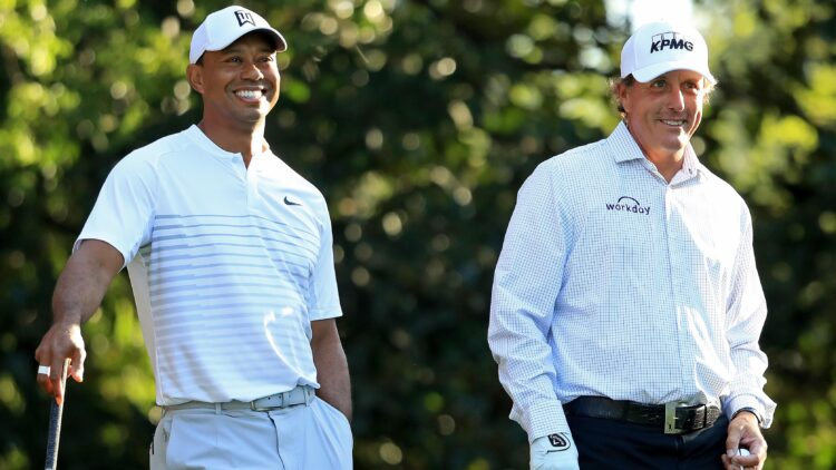 Tiger Woods and Phil Mickelson Promo