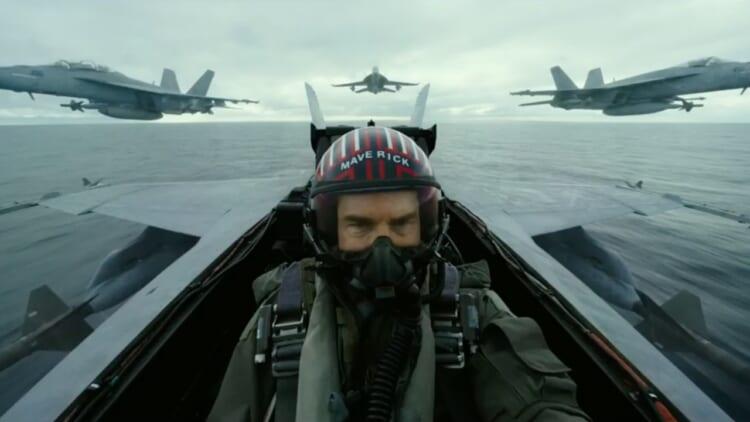 top gun maverick trailer image
