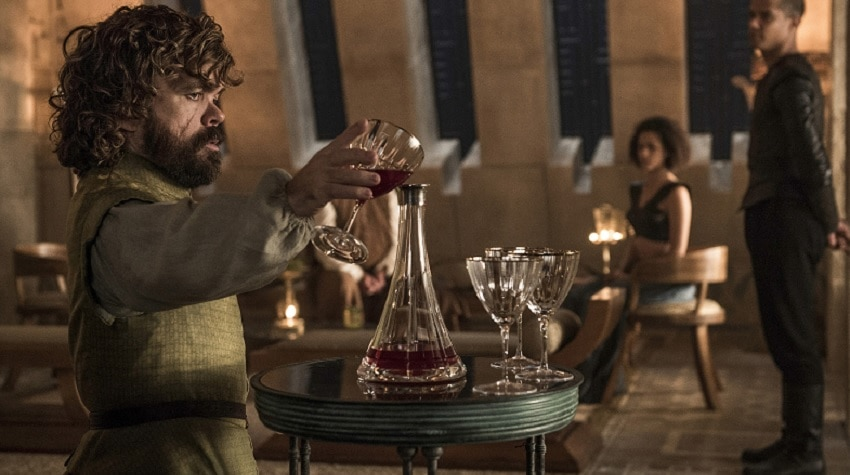 Tyrion Pouring wine GOT