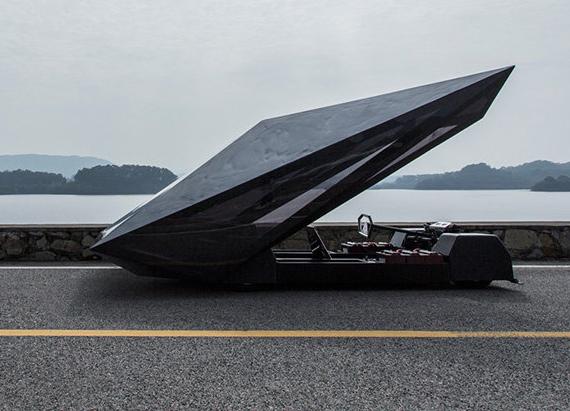 Lo Res luxury concept car