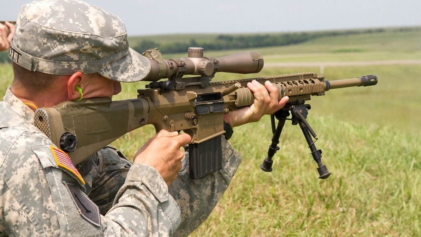 H&K sniper rifle