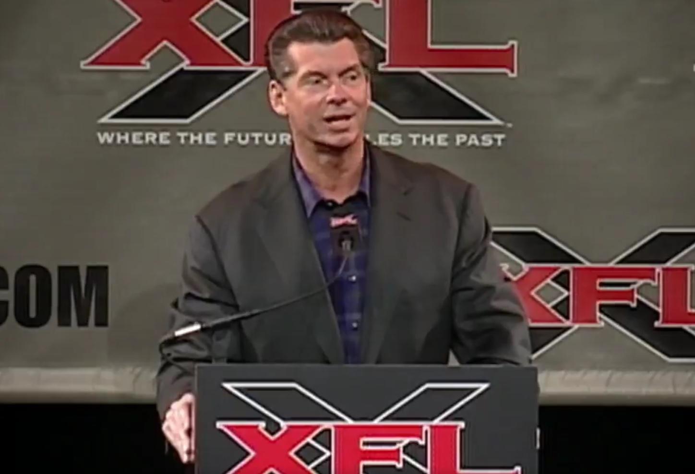 Vince McMahon, XFL