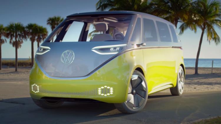 VW ID Buzz microbus