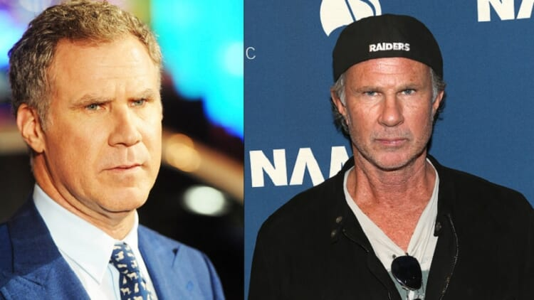 Will Ferrell and Chad Smith or Chad Smith and Will Ferrell. Who knows?