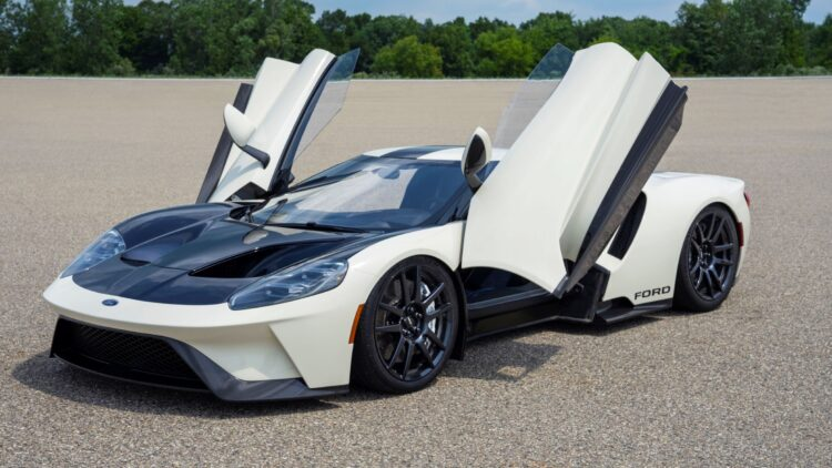 2022 Ford GT 64 Heritage Edition Promo