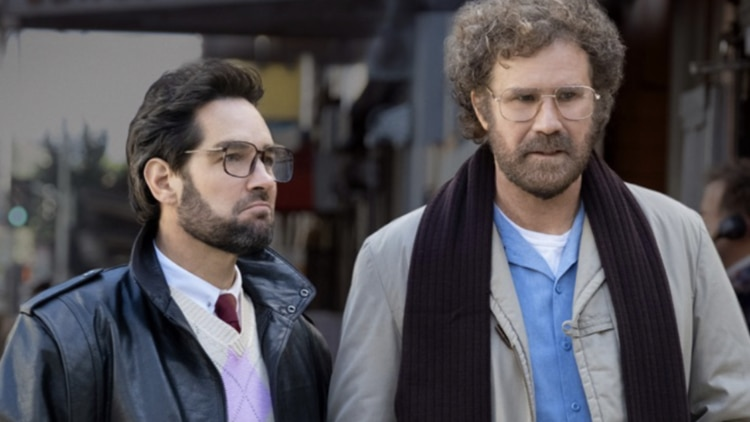 """Paul Rudd and Will Ferrell in a scene from """"The Shrink Next Door."""""""