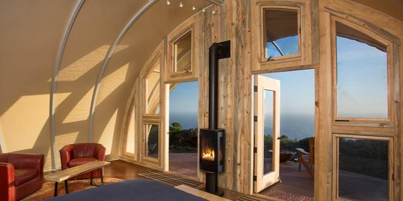 A stove and insulation make it versatile, year-round (Photo: Autonomous Tent Co)