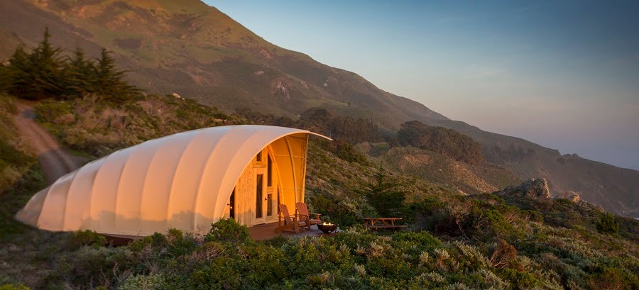 An eco-friendly way to enjoy secluded natural locations (Photo: Autonomous Tent Co)