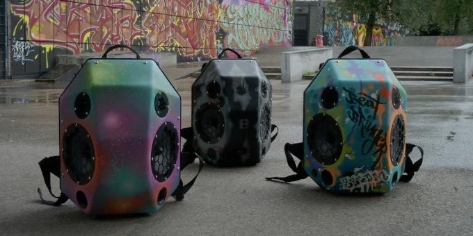 The unique graffiti edition runs about $900 (Photo: BeatBringer)