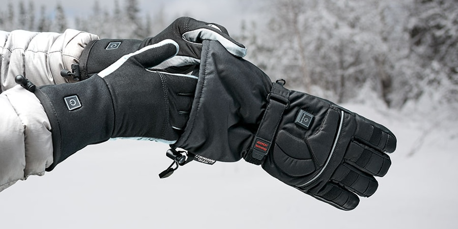 Gotta keep those hands warm this winter (Photo: The Sharper Image)