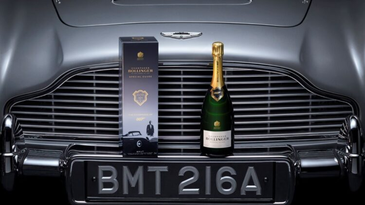 Bollinger Special Cuvee 007 Limited Edition Promo