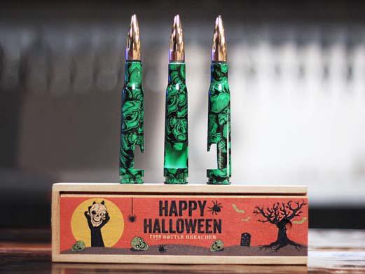 The Halloween edition glows in the dark (Photo: Bottle Breacher)