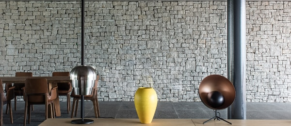 Sustainable and smooth meets funky shapes and textures (Photo: Marcio Kogan by dbox)