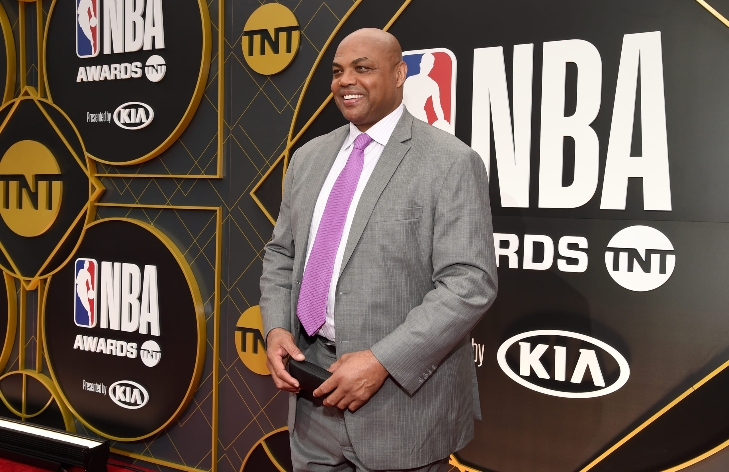 Charles Barkley at the TNT NBA Awards