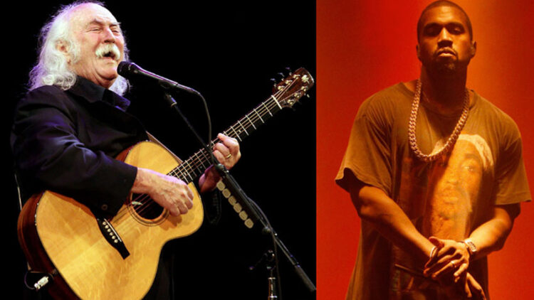 David Crosby and Kanye West split Getty Images