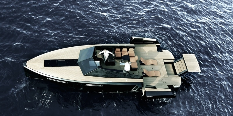 Literally all decked out (Photo: Evo Yachts)