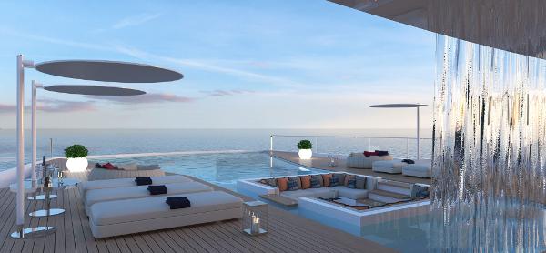 The view from the main deck ain't bad (Photo: Gabriele Teruzzi)