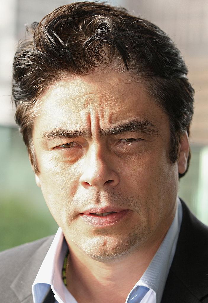 Benicio del Toro Getty Images