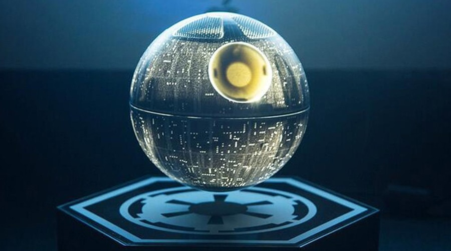 Hellosy's Levitating Death Star Speaker (Photo: Hellosy)