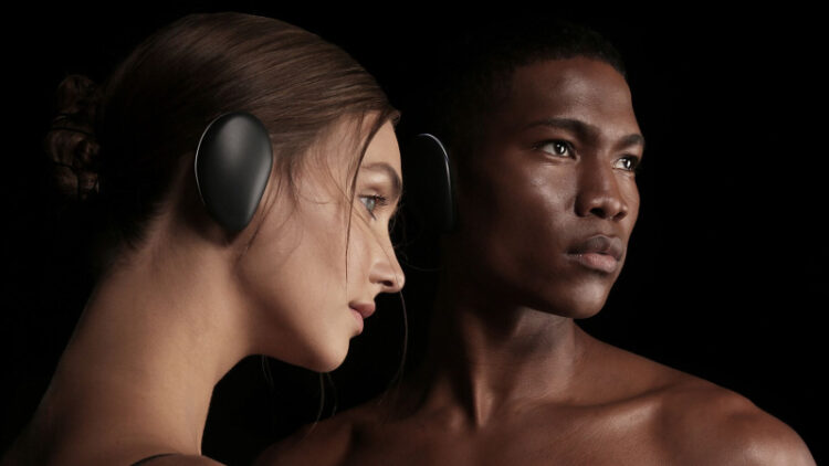 Sound wireless earpads go right on your ears (Photo: Human Inc.)