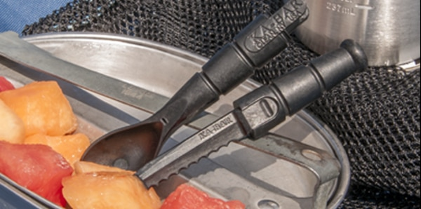 Safe for grub, but not to bring on a plane (Photo: KA-BAR Knives)