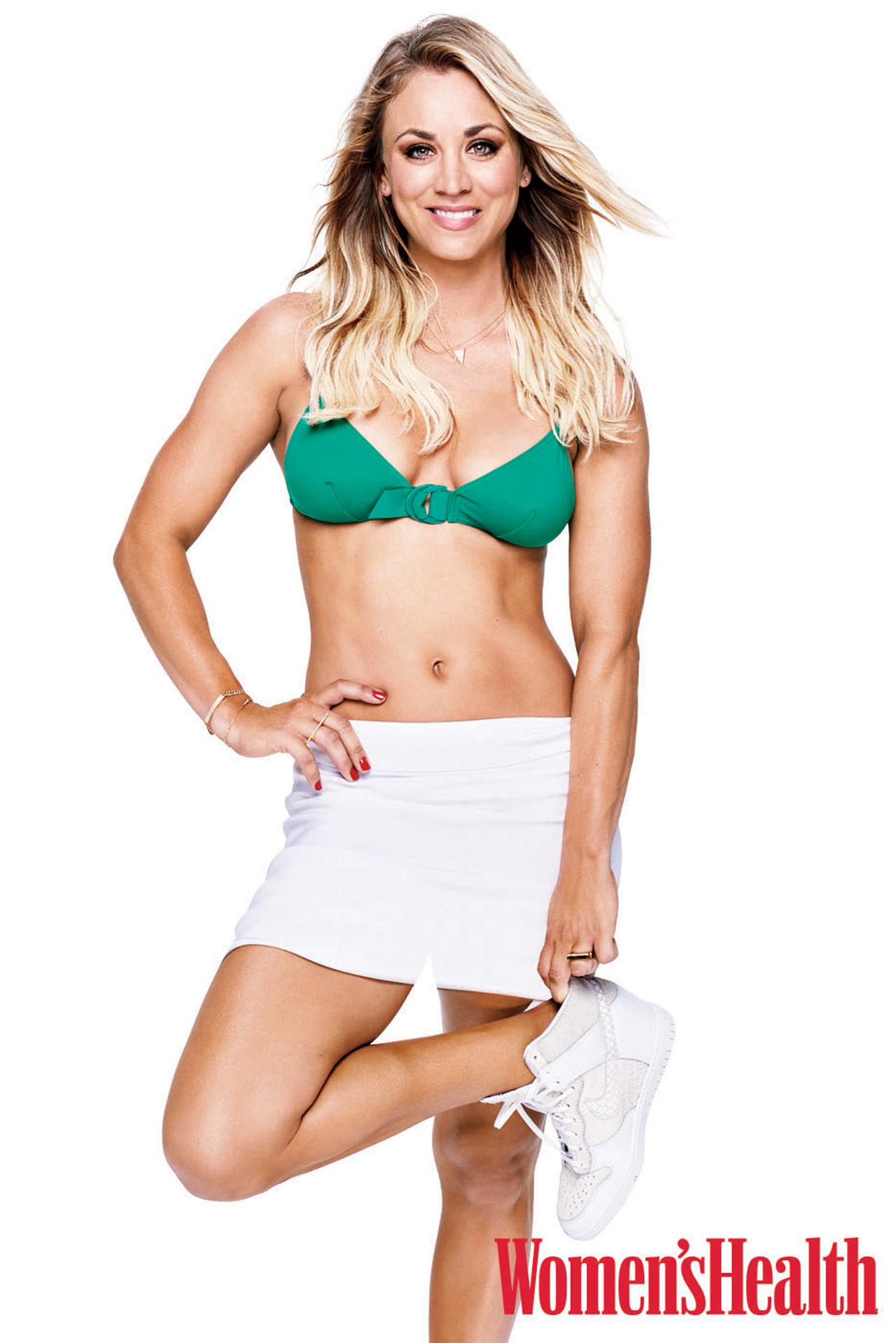 Kaley Cuoco [Women's Health]