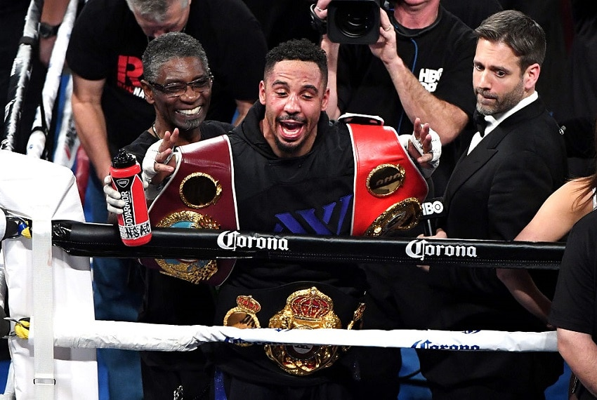 Andre Ward after win Getty