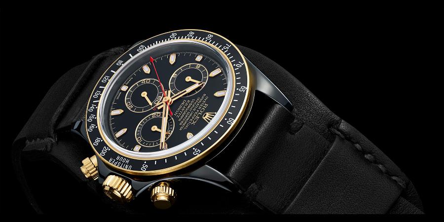 It's based on Rolex's classic Cosmograph Daytona (Photo: Les Artisans de Geneve)