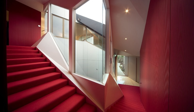 The windy staircase is the source of the house's paradoxical mathematical name (Photo: McBride Charles Ryan)