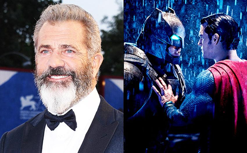 Mel Gibson Batman v Superman EW