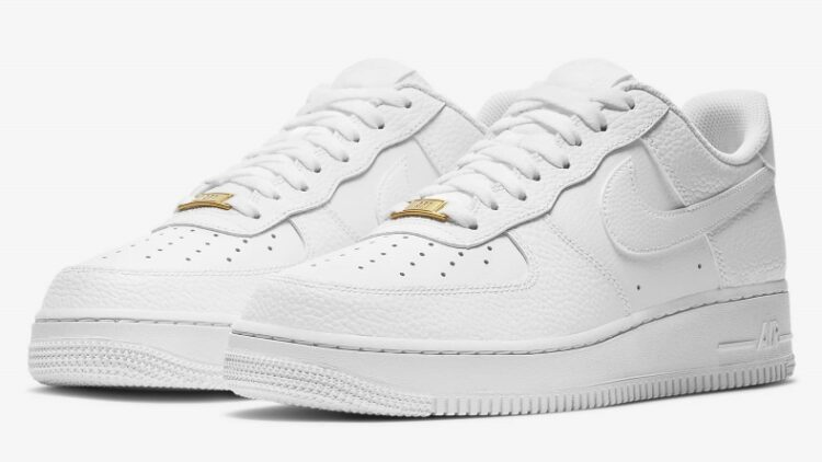 Nike Air Force 1 All White Promo