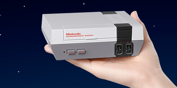 The Nintendo Classic Mini: NES comes with 30 games built in